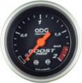 Manometro ODG Turbo Preto Aro Prata 2kg 52mm