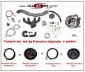 Kit ap Turbo VW com Relogios Combo