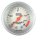 Manometro ODG Turbo Prata Aro Prata 2kg 52mm