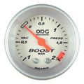 Manometro ODG Manovacometro Prata Aro Prata 2kg 52mm