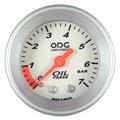 Manometro ODG Oleo Prata Aro Prata 7kg 52mm