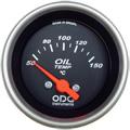 Manometro de Temperatura Oleo ODG Preto 52mm